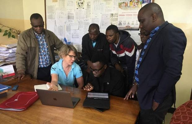 Improving Online Learning in Tanzania