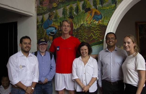 CLED project team with the Dutch Ambassador Jeroen Roodenburg