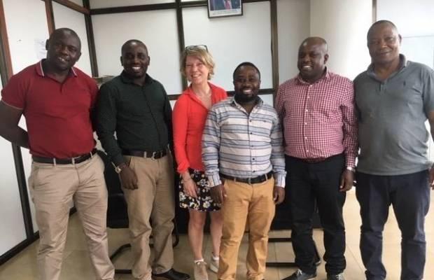 Sandra Adriaanens op missie in Tanzania