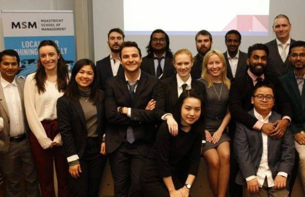 Master in Management students