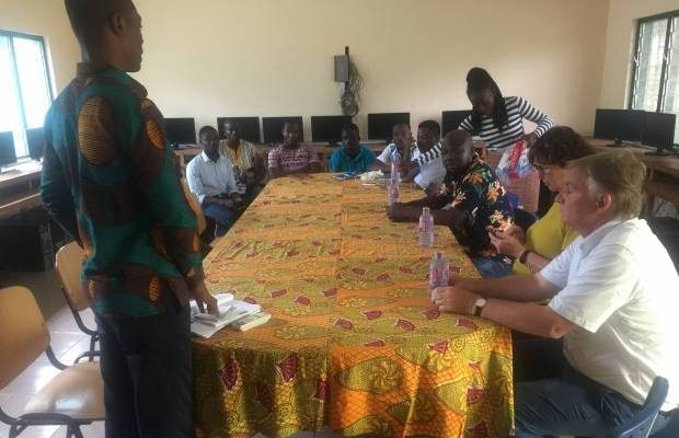 Inception workshop in Ghana