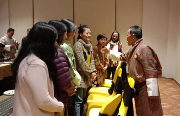 Dasho Dorji Wangdi member of the parliament in Bhutan
