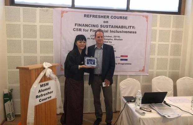 Dutch Consul in Bhutan Ms. Phuntshok C. Tshering