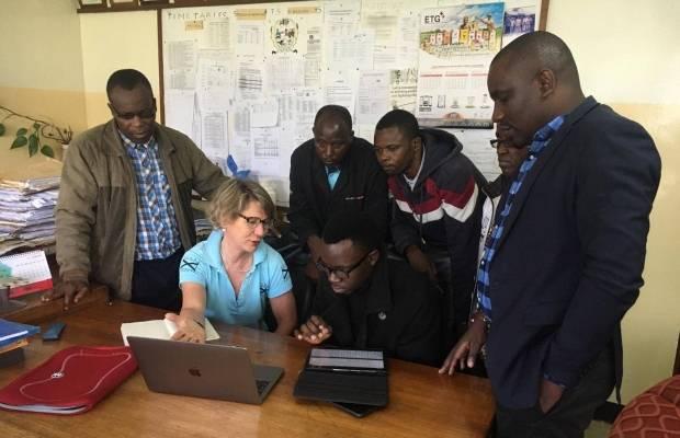 Sandra Adriaanenens op missie in Tanzania