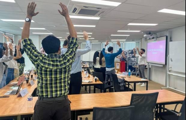 MSM Corporate Week - Body language workshop