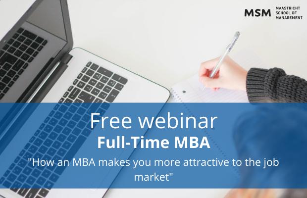 Full-time MBA Webinar