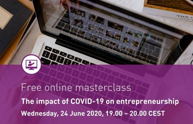 Online Masterclass: The impact of COVID-19 on Entrepreneurship