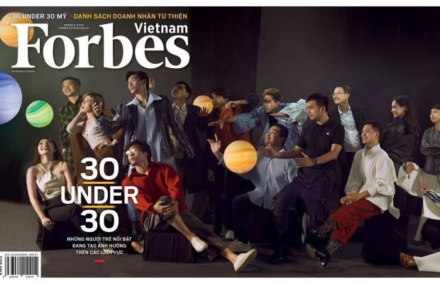Forbes 30 under 30 Vietnam