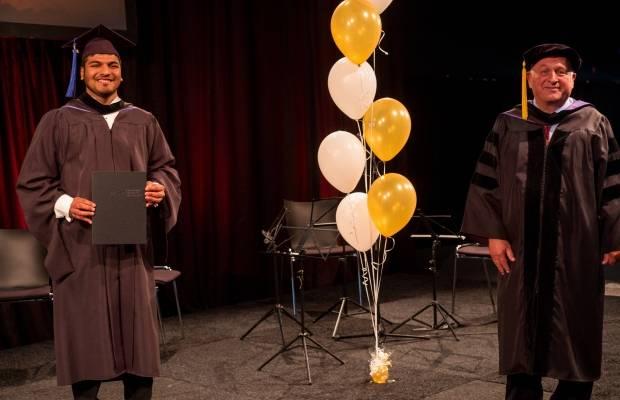 Dhruvin Gala Master in Management graduation 2020