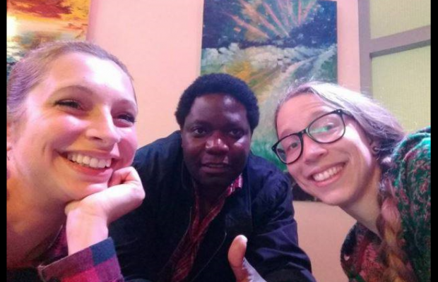 Founders of the Compost Company: Left to Right: Kerstin, Mutende and Irene
