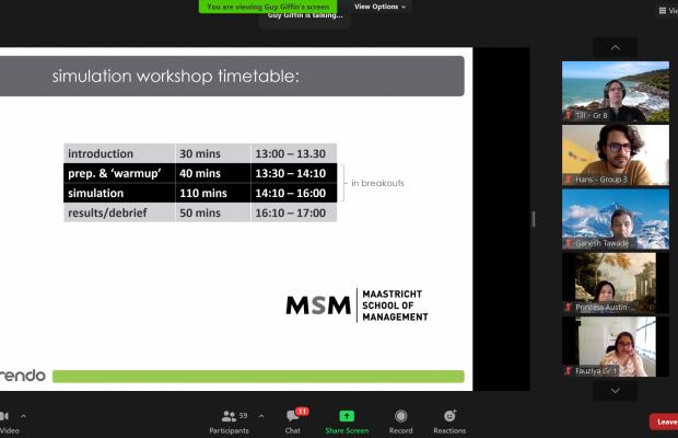 MSM Executive MBA simulation game