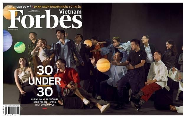 Forbes 30 under 30 Vietnam