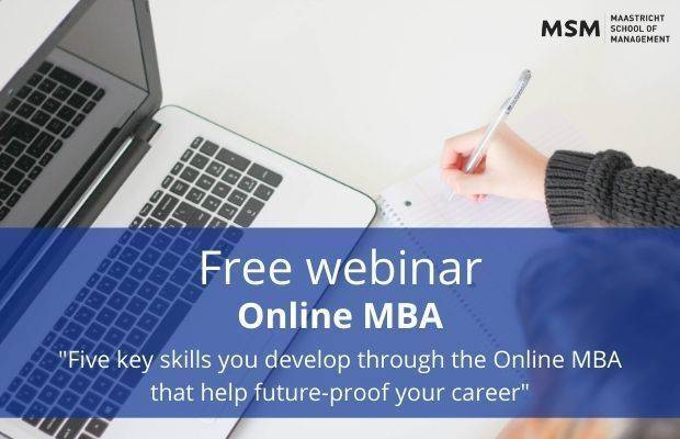 Online MBA Webinar Maastricht School of Management