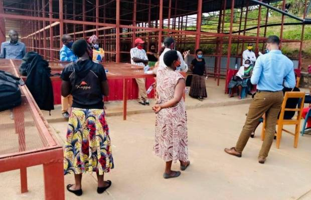 Gender inclusion training in Rwanda