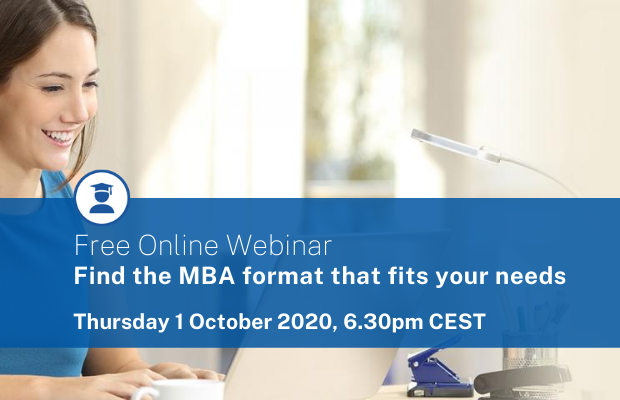 MBA Webinar | Maastricht School of Management